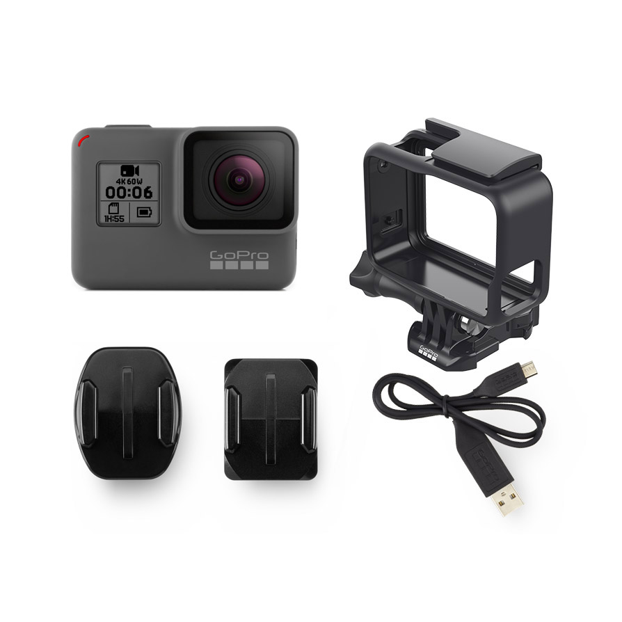 gopro hero6 black akcijska video kamera. Black Bedroom Furniture Sets. Home Design Ideas